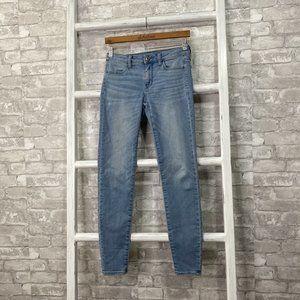 American Eagle Light Wash Jegging Jeans Size 2